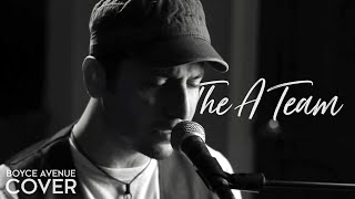 Ed Sheeran - The A Team (Boyce Avenue piano cover) on iTunes & Spotify