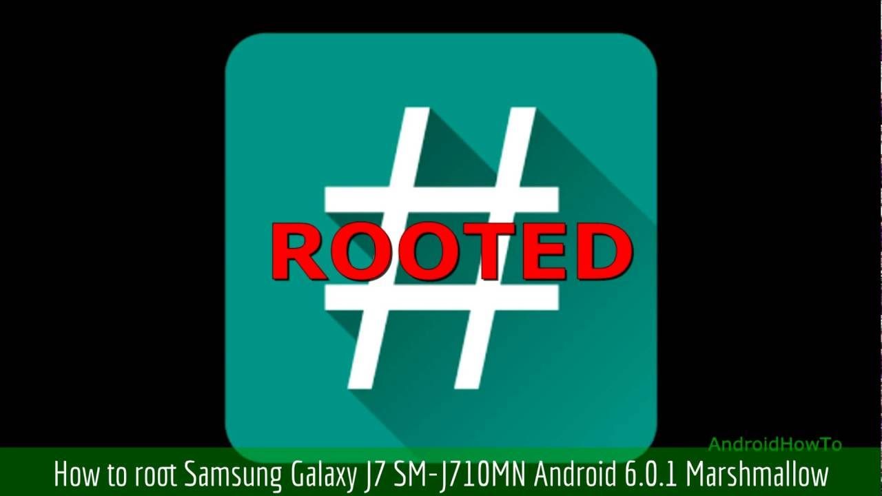 How to root Samsung Galaxy J7 SM-J710MN Android 6 0 1 Marshmallow by  AndroidHowTo