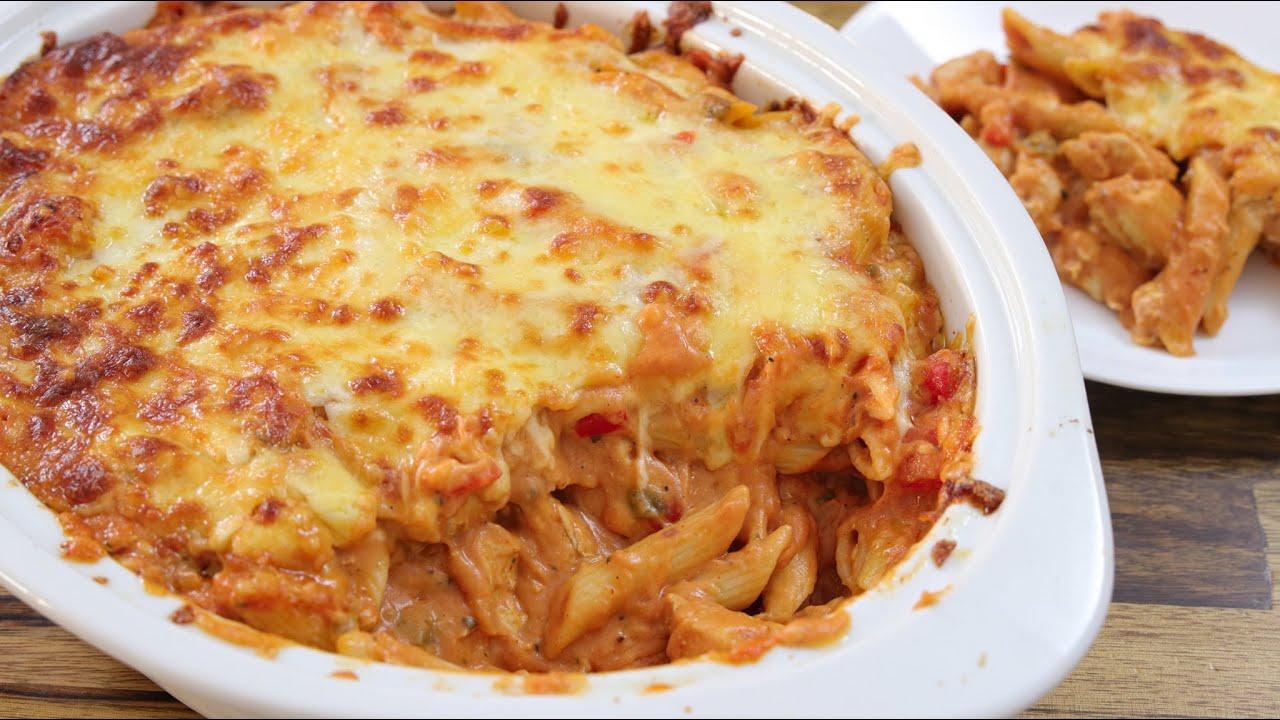 Chicken Pasta Bake Recipe