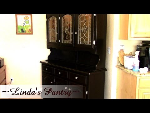 ~General Finishes Gel Staining & Updating A Hutch With Linda's Pantry~