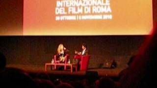 Shah Rukh Khan at the International Rome Film Festival 2010