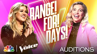 """Staten Island's Marisa Corvo Sings P!nk's """"Perfect"""" - The Voice Blind Auditions 2020"""