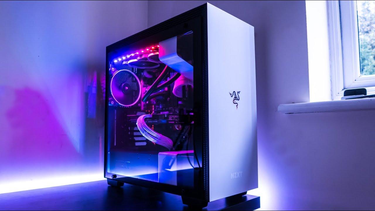 The Ultimate Rgb Pc Build Nzxt H700i Amp Hue Rgb Lighting