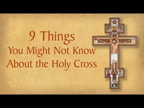 9 Things You Might Not Know About the Holy Cross | Monastery Icons