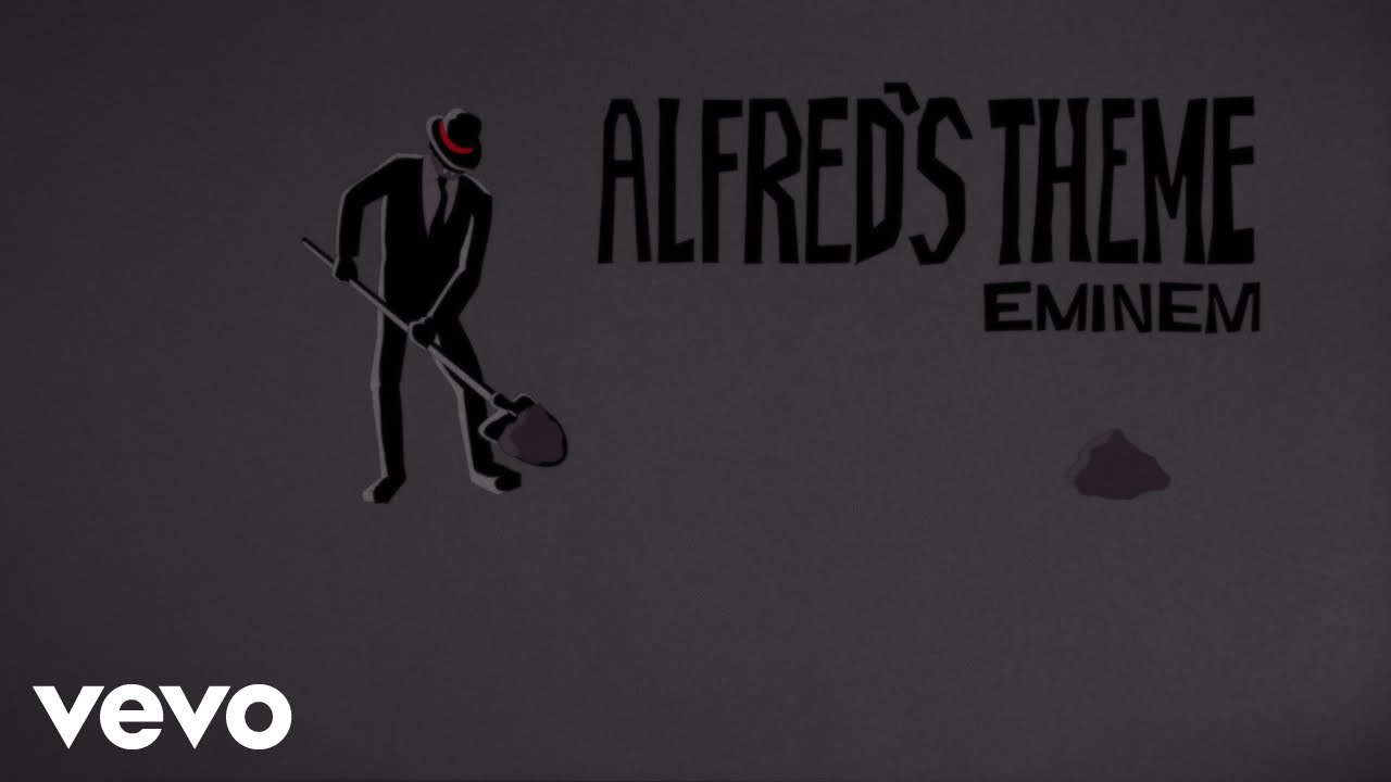 Eminem - Alfred's Theme (Lyric Video)