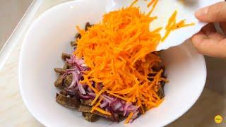 Салат который съедают первым.Мясной Салат . Новогоднее меню 2020.Рецепт  вкусного салата.