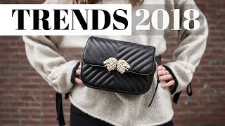 5 Huge Fashion Trends for 2018