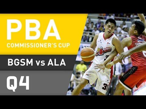 GINEBRA VS. ALASKA - Q4 | PBA Commissioner's Cup 2016