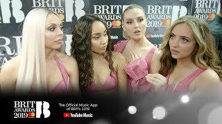 Little Mix: 'It's all a bit surreal' | The BRIT Awards 2019