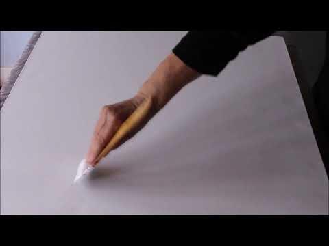 Acrylmalen, wie beginne ich ein Bild, Teil 1