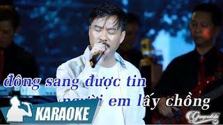 Chuyện Ngày Cuối Năm Karaoke Quang Lập (Tone Nam) | Nhạc Xuân Karaoke