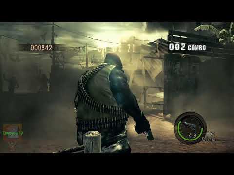 Resident Evil 5 | Gatling Gun Majini | #1