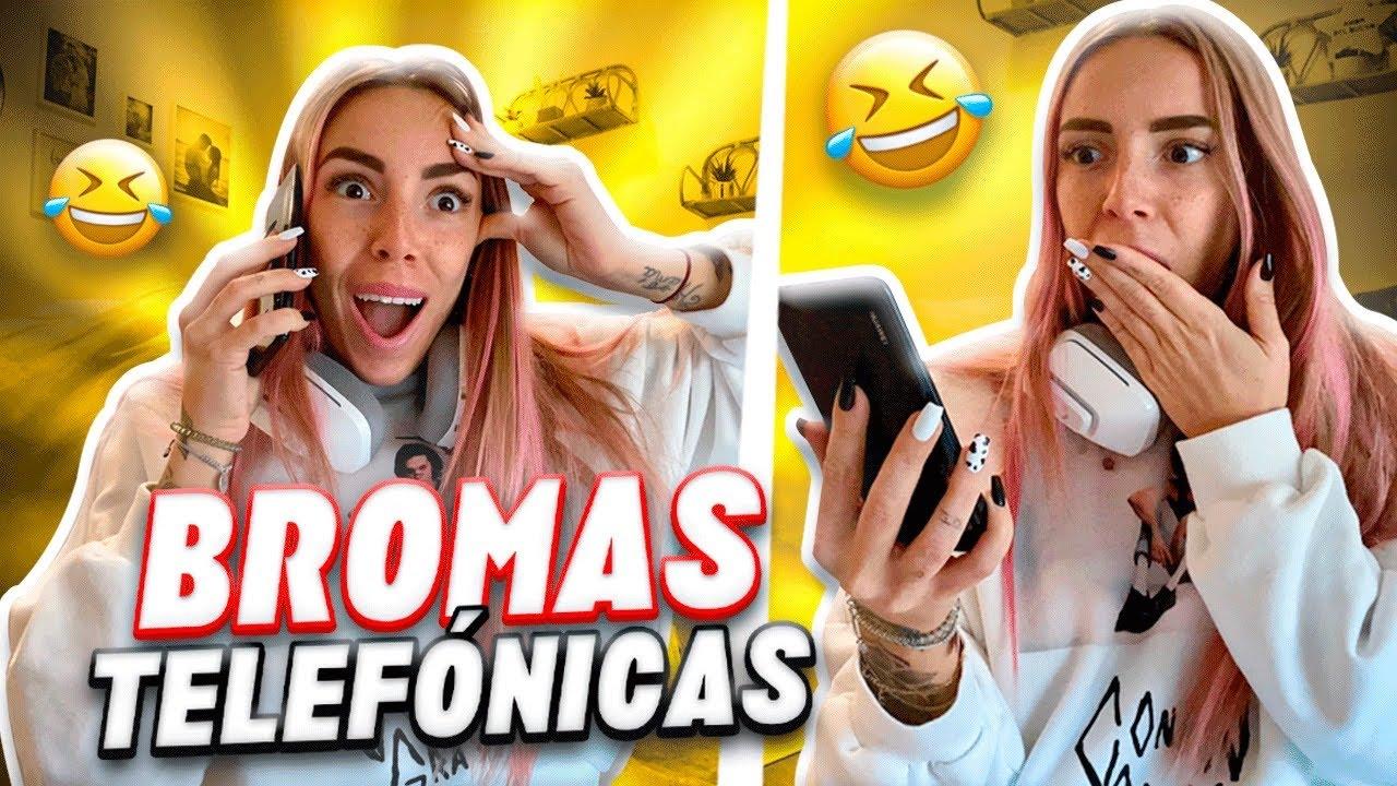 DIRECTO de BROMAS TELEFÓNICAS!! (TU NOVIA ES INFIEL..😂)