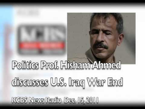 KCBS Radio Interviews Prof. Hisham Ahmed About End of Iraq War for U.S.