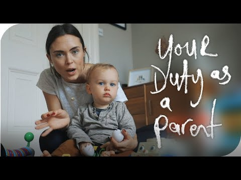 YOUR DUTY AS A PARENT  THE MICHALAKS  AD