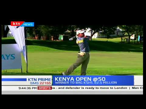 Barclays marks 50th anniversary in Kenya Open Golf tournament in 2018