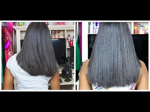 Watch me Relax & Color my Hair + Length Check?
