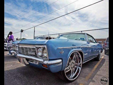 Stunna Jam 2016 : Blue 1966 Chevrolet Impala SS On 24