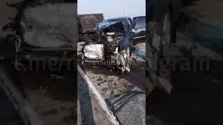 ДТП на кирилловской трассе, видео из соцсети