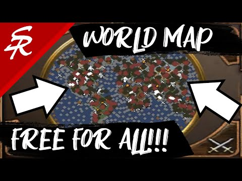 WORLD MAP FREE FOR ALL MAP!!! | Classic & Casual | Age Of Empires III