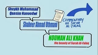 the beauty of surah al falaq ᴴᴰ kinetic typography by ustadh nouman ali khan tdr