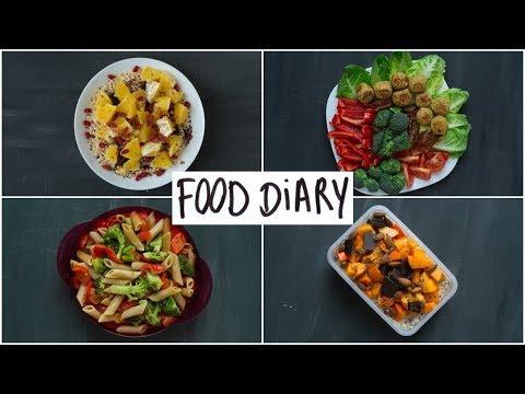FOOD DIARY gesund | vegetarisch | mein geheimes Projekt!