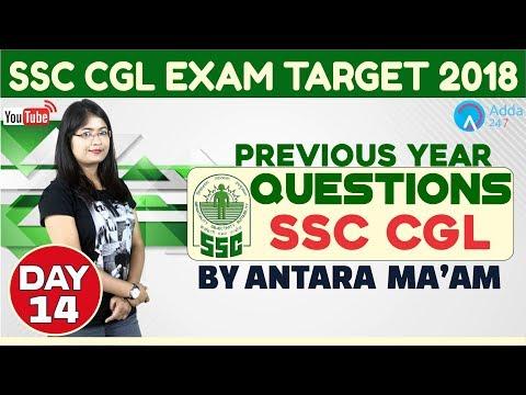 ssc-cgl/cpo-|-previous-year-paper-day-14-|-antara-ma'am