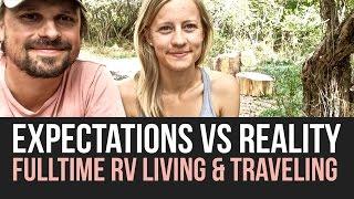 expectation vs reality of fulltime rv life   qa   a drivin vibin travel vlog