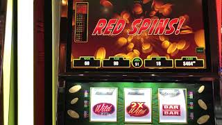 """Lucky Ducky Electric Wilds"" VGT Slots  Red Spin Wins JB Elah Slot Channel Choctaw Casino"