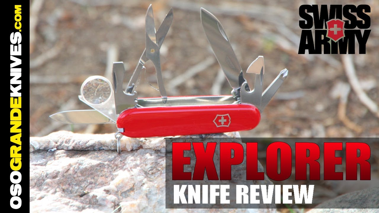 Victorinox Swiss Army Explorer Knife Review