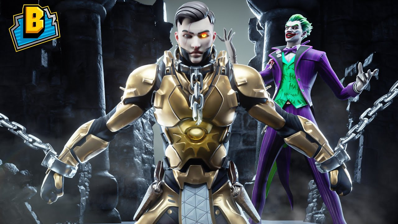 THE JOKER CREATES MIDAS REX!!! - Fortnite