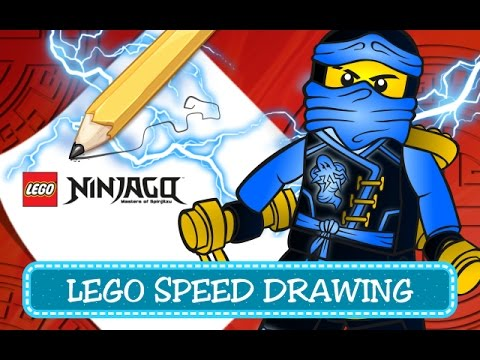 How To Draw Jay Come Disegnare Jay Lego Ninjago Speed Drawing