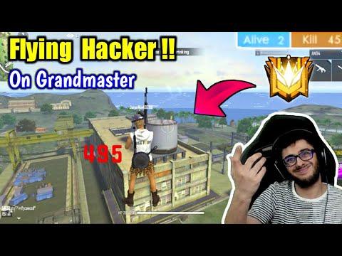 I meet a Flying Hacker on Grandmaster😈😈सस्ता शक्तिमान😂😂😂😂!!