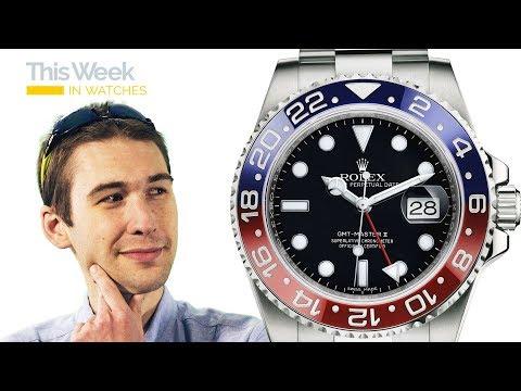 TWIW: Patek Philippe v. Rolex; New Glashutte Original, Jaeger LeCoultre; Bell & Ross; Grand Seiko