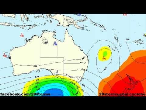 Cyclone Evan Moving Towards Fiji, Vanuatu