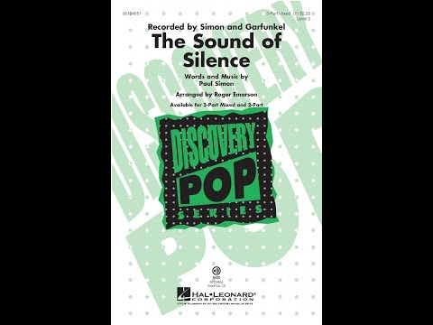 The Sound of Silence (3-Part Mixed) - Arranged by Roger Emerson