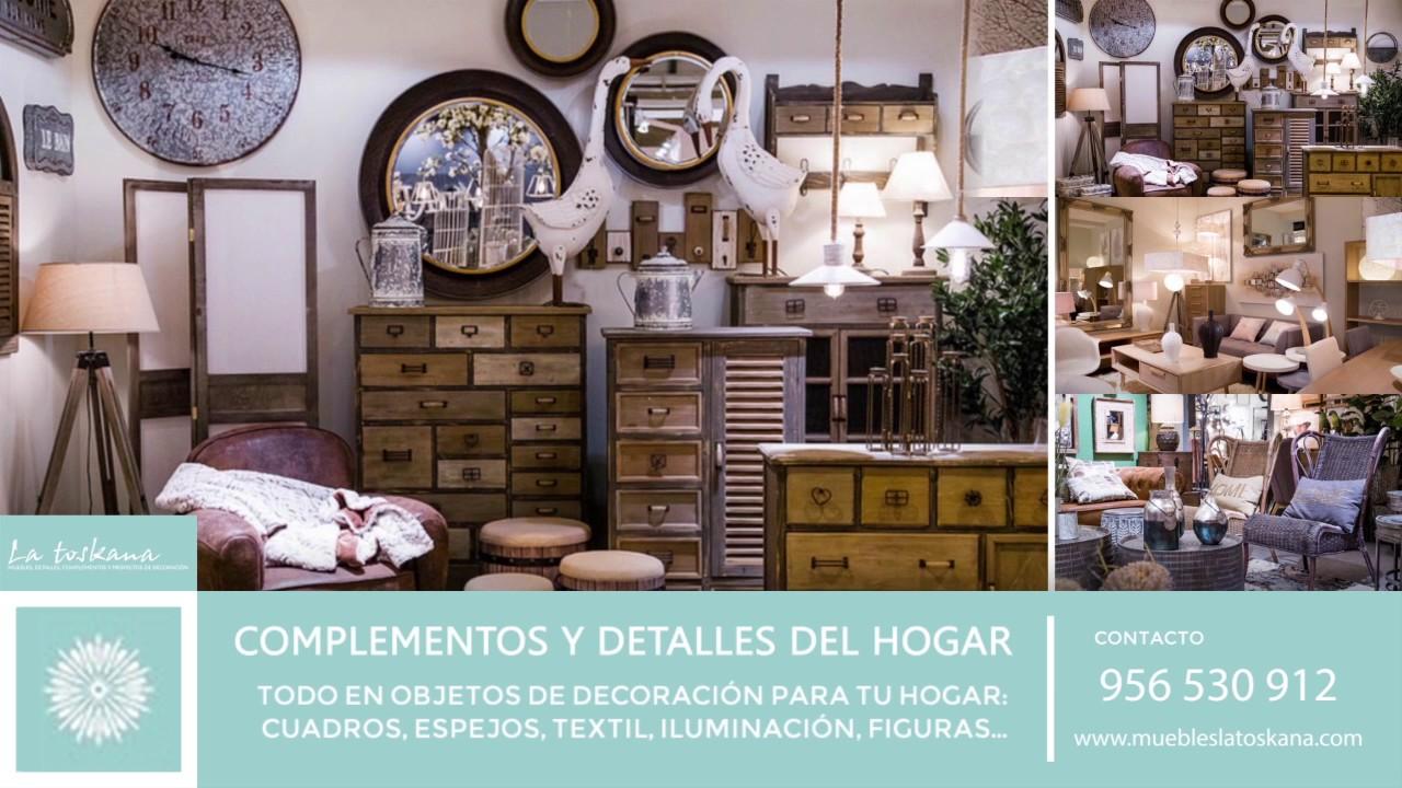 Muebles la toskana tienda online de muebles detalles y for Muebles de decoracion online