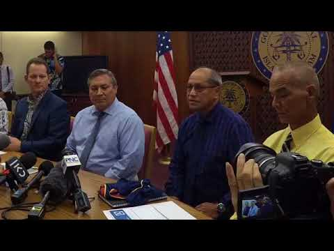 Governor Calvo addresses Guam's preparedness for a nuclear attack