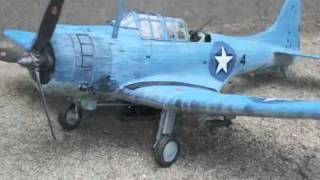 SBD Dauntless scale mode
