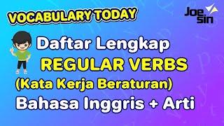 Download lagu Daftar REGULAR VERB dalam Bahasa Inggris   Joesin