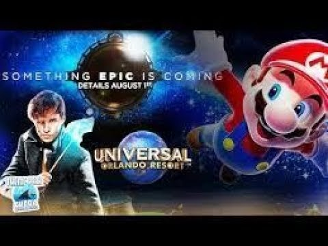 Universal's Epic Universe | New Orlando Theme Park | Nintendo Land and Fatastic Beasts Rides