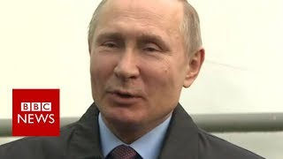 President Putin: Get to bottom of spy poisoning in UK - BBC News