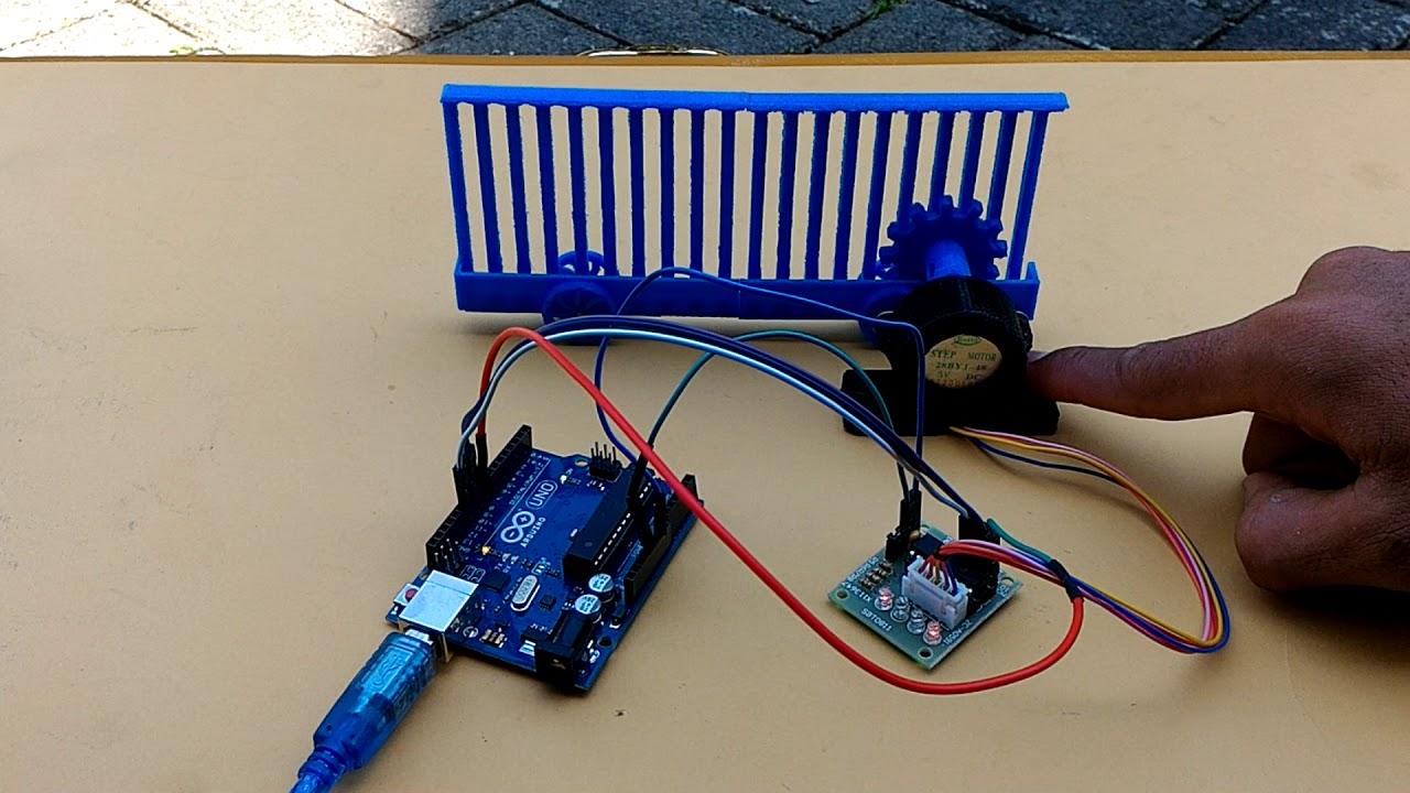 Stepper Driven Sliding Gate Support Arduino Hub Wa
