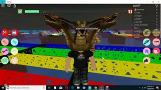 ROBLOX ESCAPA DE TANOS OBBY CAP 2 CN THE BLUE WOLF