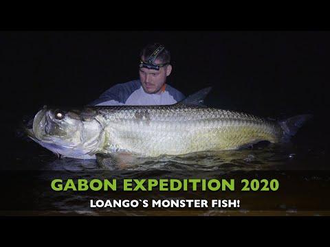 CATCHING MONSTER FISH AND HUGE TARPON IN GABON