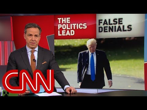 Tapper: Falsehoods from WH are commonplace now