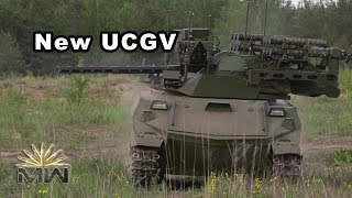 Uran-9 - New Russian Unmanned Combat Ground Vehicle [Review]