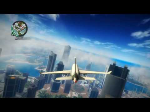 Just Cause 2 Plane crash - YouTube