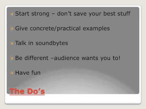 Writing A Persuasive Speech - Dos And Don'ts