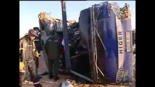 حادث مرور يخلف 12 قتيلا بين طريق ورقلة تقرت